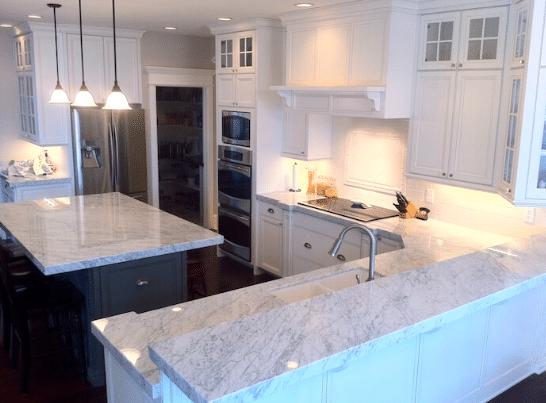 South Carolina marble countertops